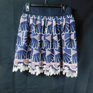 Lauren Moffatt Daisy Quarters Skirt Size 8